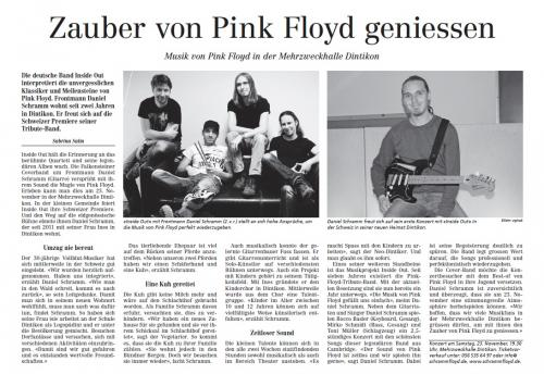 Zauber von Pink Floyd geniessen